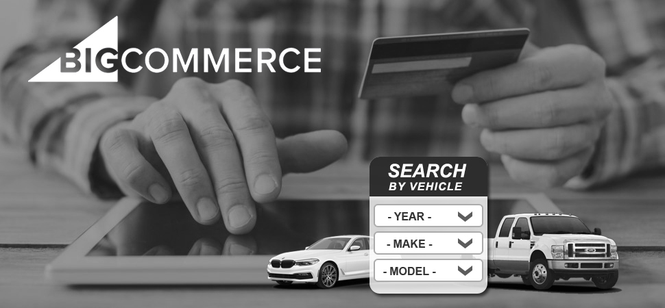 Bigcommerce Make Model Year Lookup tool